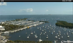 Web Cam of CGSC & Biscayne Bay from Sonesta Hotel