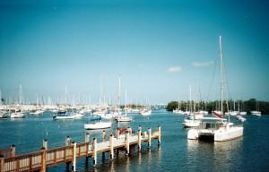 Coconut Grove Sailing Club Mooring Field